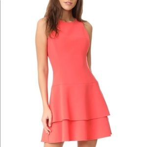 Black Halo coral Cheryl Mini dress. NWT. Size 2